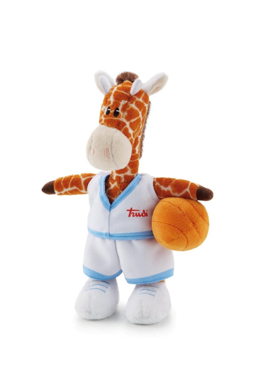 Trudi Sport - Peluche Girafe Basket 18 cm