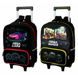 Megacars Megaquads Oberthur Wheeled Backpack