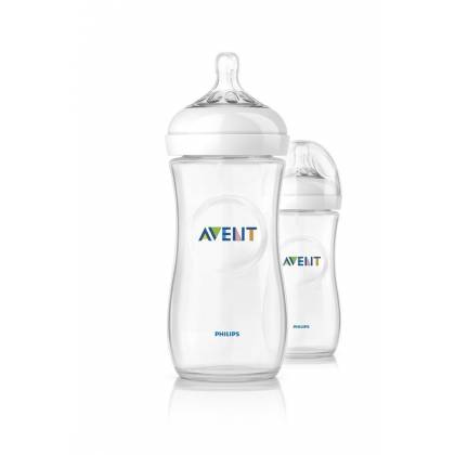 Philips AVENT Lot de 2 biberons Natural PP 330ml