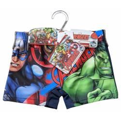 Avengers - Boxer de Bain Garçon - 4 à 10 ans