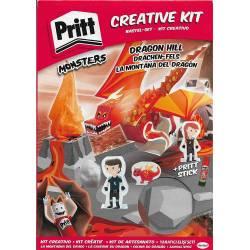 Kit Créatif Pritt Monsters La Caverne du Dragon
