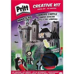 Kit Créatif Pritt Monsters Château de Vampire