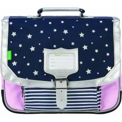 Schoolbag Tann's 35 cm Stars Amelie Blue and Pink