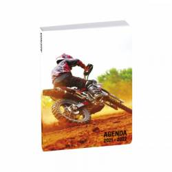 Agenda Moto Cross Wild Run 2021/2022 12 x 17 cm