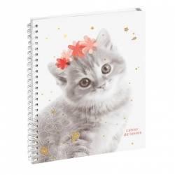 Farbe Lovely Kaninchen Notizbuch 17 x 22 cm