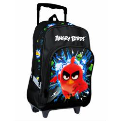 Cartable à roulettes Angry Birds RED 40 cm