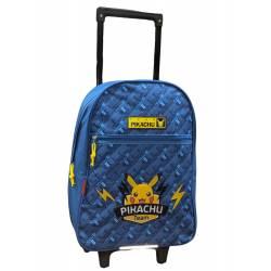 Pokemon Pikachu Team Backpack on Wheels 42 cm