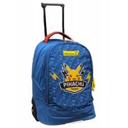 Pokemon Pikachu Team-Rucksack auf Rädern 47 cm