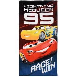 Serviette de Plage Cars Race to Win 140 x 70 cm