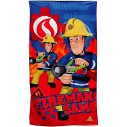 Serviette de Plage Sam le Pompier 140 x 70 cm