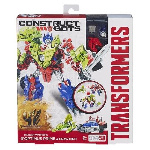 Transformers - Construct-a-Bot - Figurine Optimus Prime - A6165