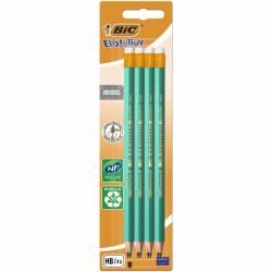BIC - Lot de 8 Crayons à Papier Evolution Original HB