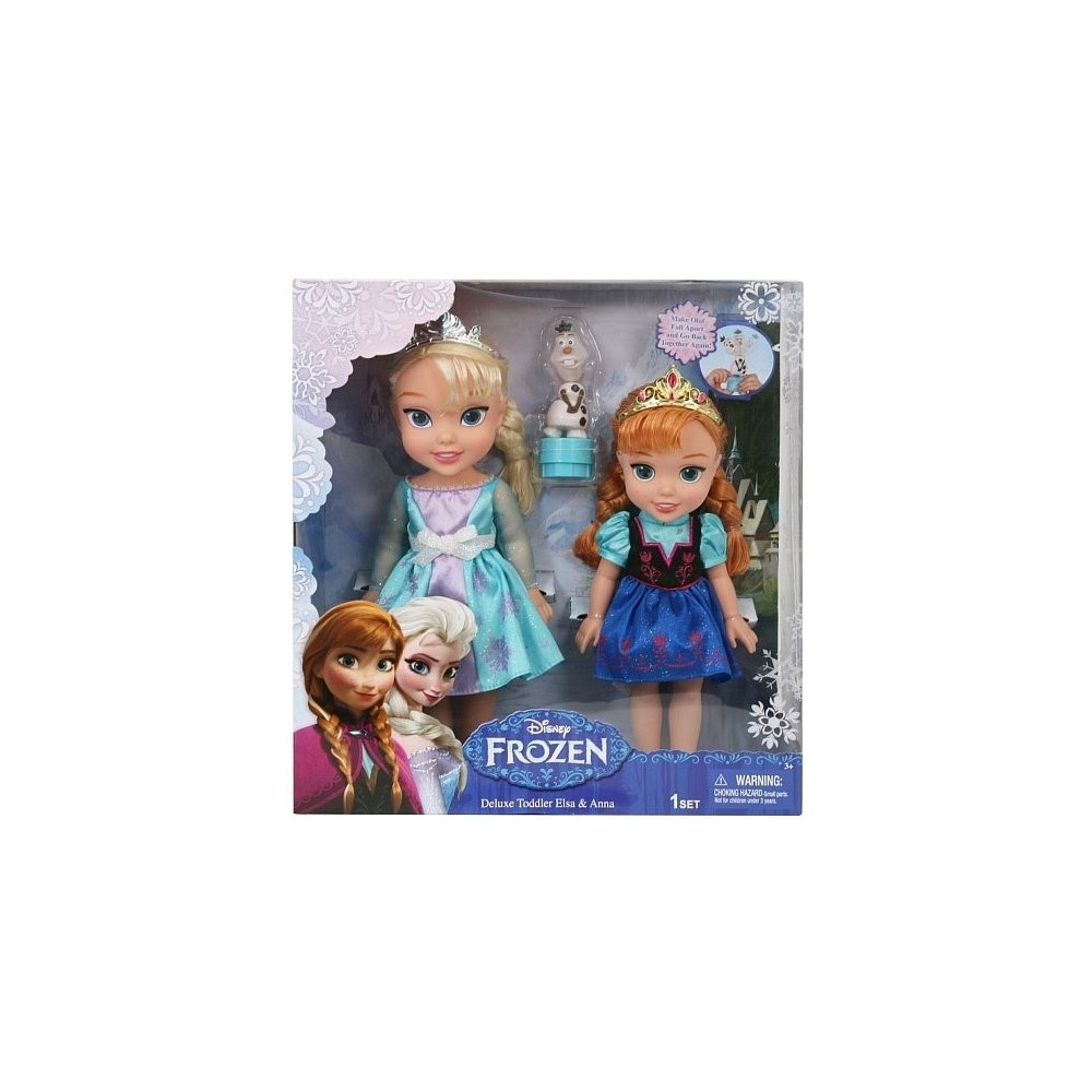 poup e la reine des neiges coffret anna elsa et olaf. Black Bedroom Furniture Sets. Home Design Ideas