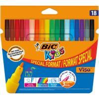 BIC KIDS - Etui de 18 Feutres de Coloriage Visa