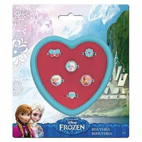Coffret de 6 Bagues La reine des neiges Frozen