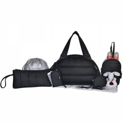 BABY ON BOARD Sac à Langer Mon Doudoune Bag Noir