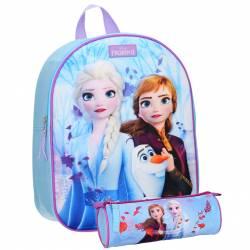 Snow Queen 3D Bag + Case Pack