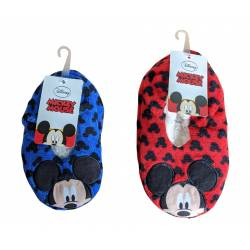 Chaussons Antidérapants Mickey Mouse Rouge / Bleu