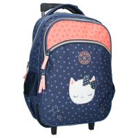 Milky Kiss Cats Have More Fun Rolling Backpack