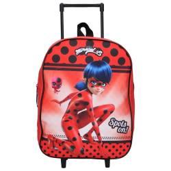 Sac à dos à roulettes Miraculous Voilà Ladybug 35 cm