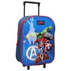 Sac à dos à roulettes Marvel Avengers Bring the Thunder 35 cm