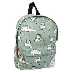 Small Backpack Kidzroom Dress UP Dinosaur Green 32 cm