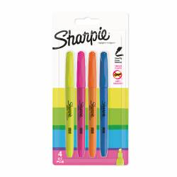 4 Sharpie Anti-Smudge Highlighters