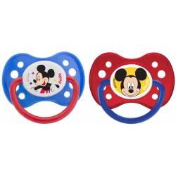 Lot de 2 Sucettes Anatomique Dodie Mickey Mouse +6 mois