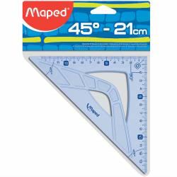 MAPED - Equerre 45° Hypoténuse Geometric 21 cm