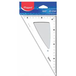 Maped Classic square 60° hypotenuse 21 cm