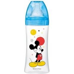 Biberon Anti-Colique Dodie PP 330 ml Mickey Mouse Bleu