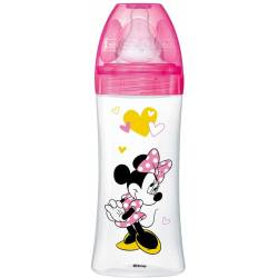 Dodie PP Anti-Colic Bottle 330 ml Minnie Mouse Pink