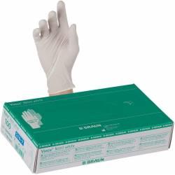 Boîte de 100 Gants en Nitrile Vasco Blanc M