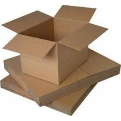 Carton d'expedition Simple Cannelure 20 x 20 x 11 cm x 10