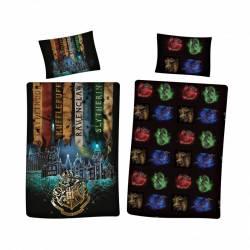 Harry Potter Reversible Duvet Cover 140 x 200 cm + Pillowcase