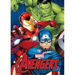 Plaid Fleece Blanket Marvel Avengers 140 x 100 cm