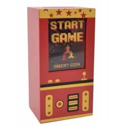 Star Game Wooden Money Box