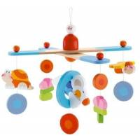 "Sevi - Mobile en bois ""Happy Splash"" Souris"