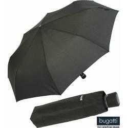 Bugatti Black Mini To Go Folding Umbrella