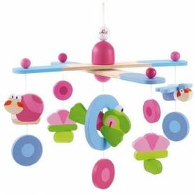 Trudi Sevi - 182090 - Jouet de Premier Age - Happy Splash - Mobile Grenouille