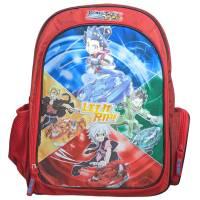 Schoolbag Beyblade Burst 40 cm Red