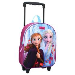 Backpack with wheels 3D Snow Queen Strong Together 31 cm