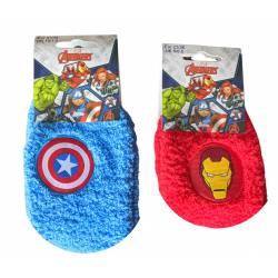 Chaussette Peluche Avengers Antidérapantes