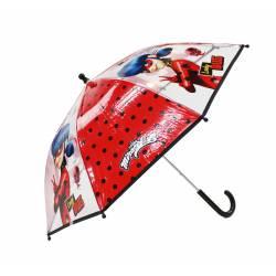 Parapluie pour enfant Miraculous Rainy Days Rouge