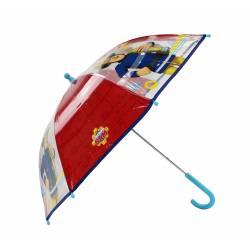 Parapluie pour enfant Sam le Pompier Rainy Days Rouge