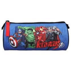 Trousse scolaire Marvel The Avengers Armor up! Bleu 20 cm