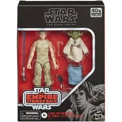 Star Wars Figurines Luke Skywalker et Yoda 15 cm Entrainement Jedi