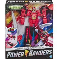 Figurine Power Rangers Zord Convertible en Bestia-Auto