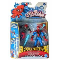 Figura Ultimate Spider-Man 10 cm Power Webs