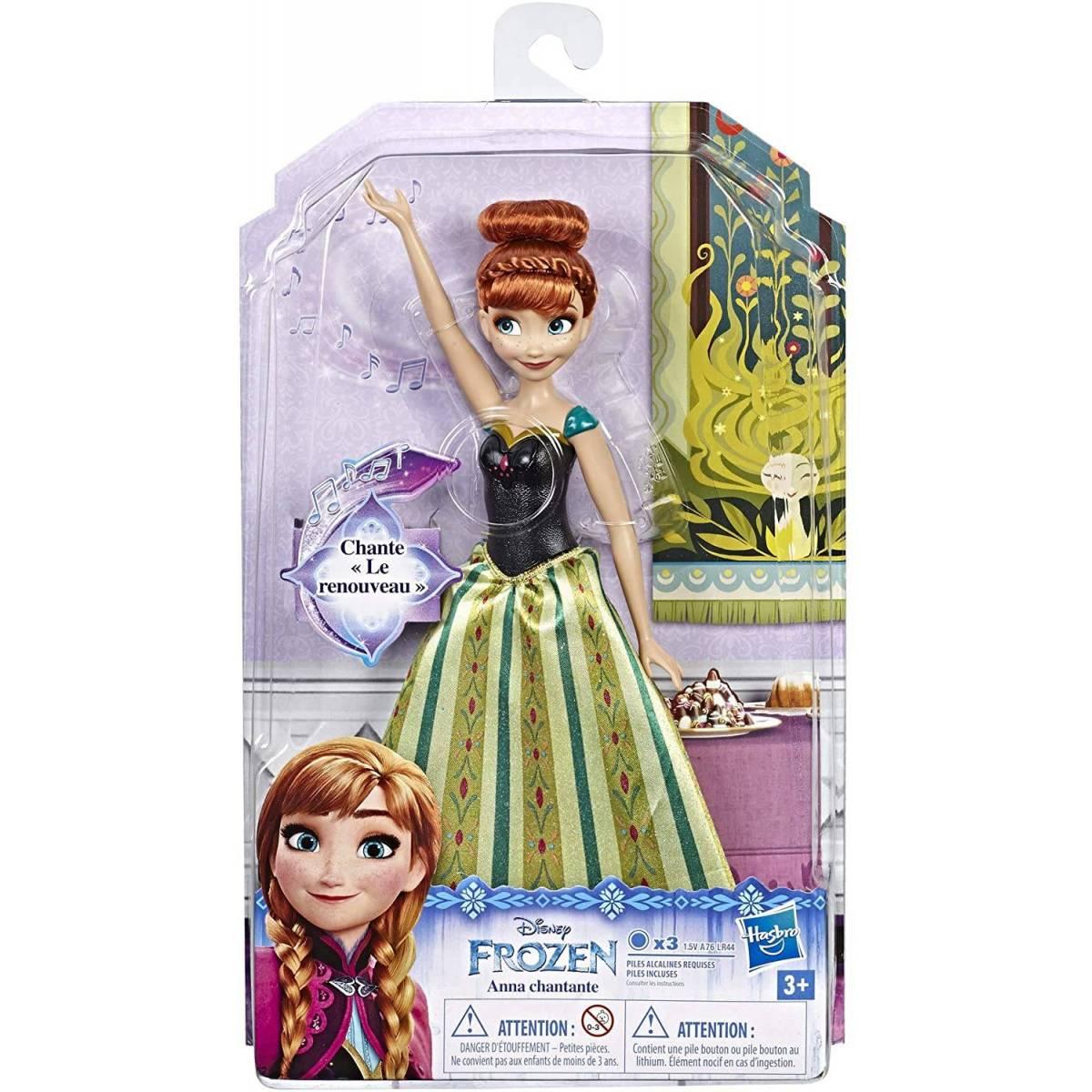 Poupée La Reine des Neiges Anna Chantante 30 cm